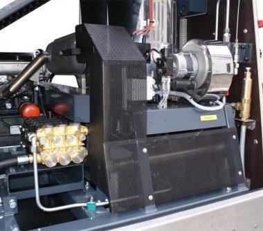 Curatitor cu presiune Oertzen Powertrailer 380/500