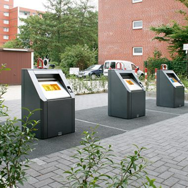 Container de reciclare cu sistem subteran | Bauer GTU