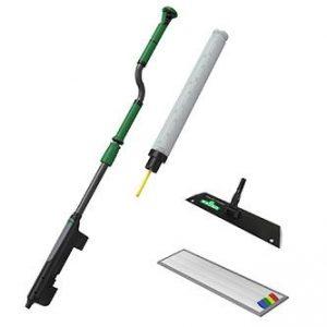 Mop ergonomic cu pulverizator pentru curatare pardoseli