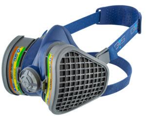 Semimasca protectie impotriva gazelor, vaporilor si prafului   Elipse ABEK1   GVS