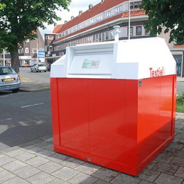 Container pentru reciclare textile cu sistem suprateran | Bauer C