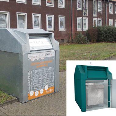 Container pentru reciclare deseuri cu sistem suprateran | Bauer C