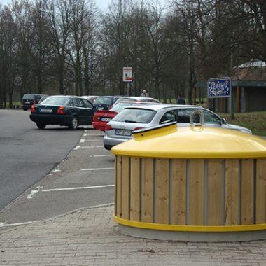 Container de reciclare cu sistem semi-subteran | Bauer GTE