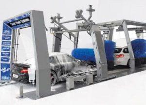 Spalatorii automate tip tunel