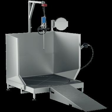 Dispozitiv pentru curățat rezervoare și containere speciale TRT1000 l Feistmantl
