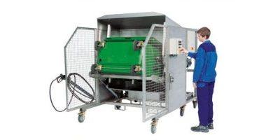 Sistem de curățare pentru containere BWA Compact l Feistmantl