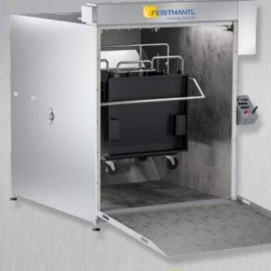 Cabină de spălat containere BWK1300 small l Feistmantl