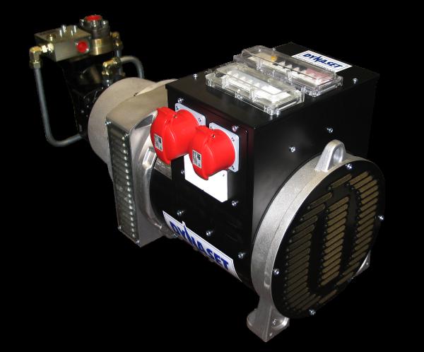 HG30 Generator de curent hidraulic 50 HZ IP23 | HG 30 kVa 120 | Dynaset - Unilift