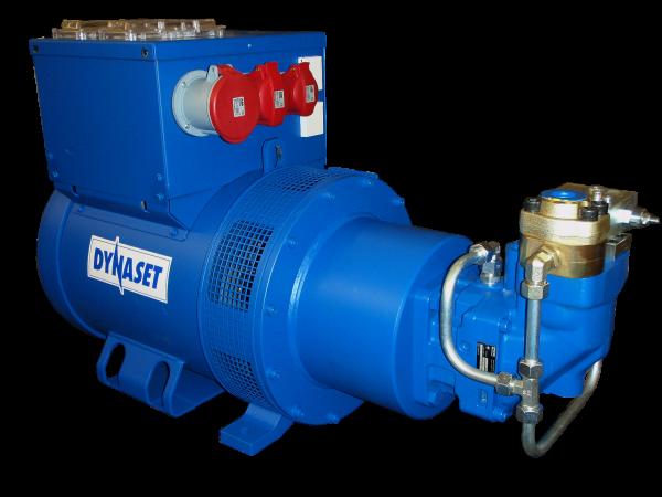 HG40 Generator de curent hidraulic 50 HZ IP23 | HG 40 kVa 90 | Dynaset - Unilift