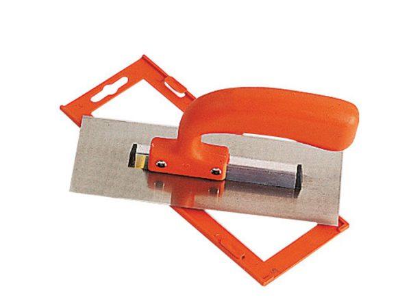 Gletiera INOX cu montura de aluminiu tesita fin maner PVC Gletiera INOX, cu montura de aluminiu, tesita fin, maner PVC | Mob-Ius - Unilift