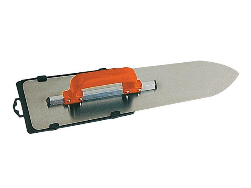 Gletiera INOX model flamand cu montura de aluminiu varf tip focos maner PVC inchis Gletiera INOX model flamand, cu montura de aluminiu, varf tip focos, maner PVC inchis   Mob-Ius - Unilift