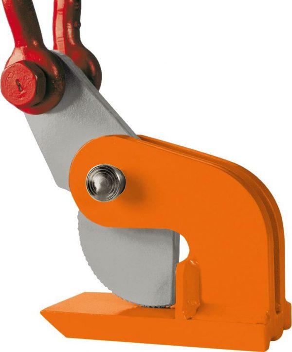 DHW grau orange Clamp de ridicare orizontala DHW pentru placi de metal | PeWag - Unilift