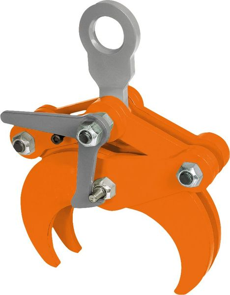 Spezialgreifer TLW grau orange Clamp special TLW pentru materiale rotunde | PeWag - Unilift