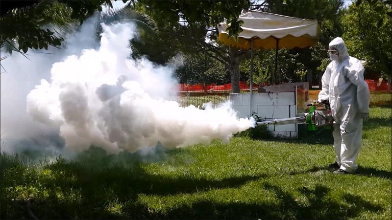 a5 Nebulizator portabil cu ceata termica pentru dezinfectie  | SM 60 | WhiteFog - Unilift