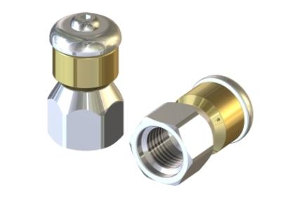 duza rotativa pentru curatarea tevilor de scurgere pa 3083 Duza rotativa pentru curatarea tevilor de scurgere STR-1/4 | PA - Unilift