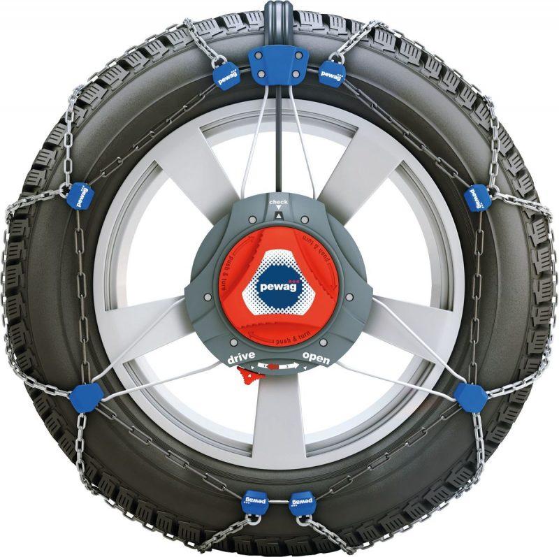 servomatik RSM front Lanturi RSM anti-derapante anvelope masini | PeWag - Unilift