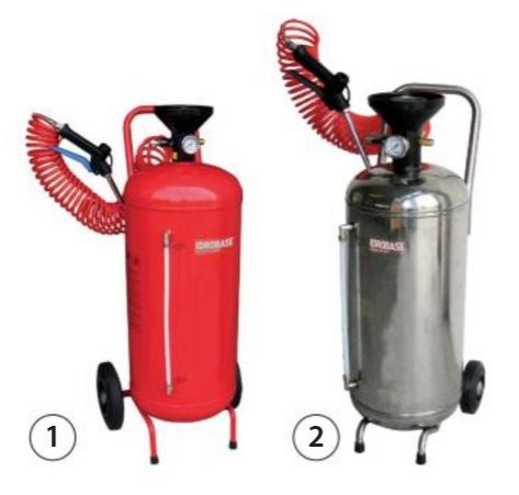 12ddddf Kit de dezinfectie manual cu lance si nebulizator   IDROBASE - Unilift