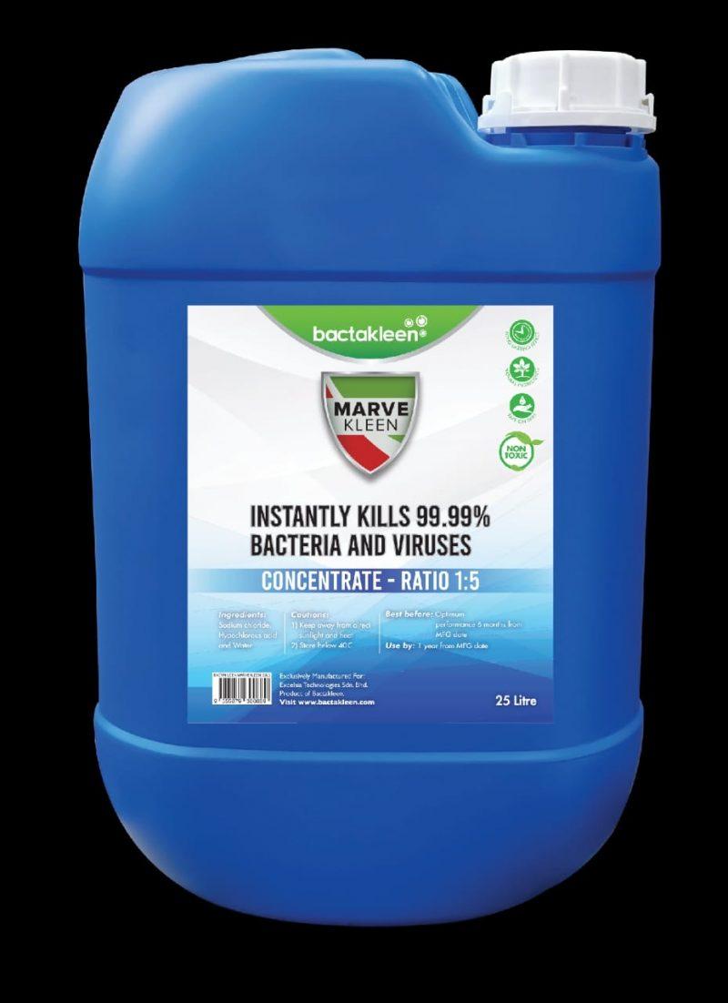 BactaKleen Marvekleen disinfectant Pudra concentrata dezinfectanta 1plic : 10l apa | Marvekleen | Bactakleen - Unilift