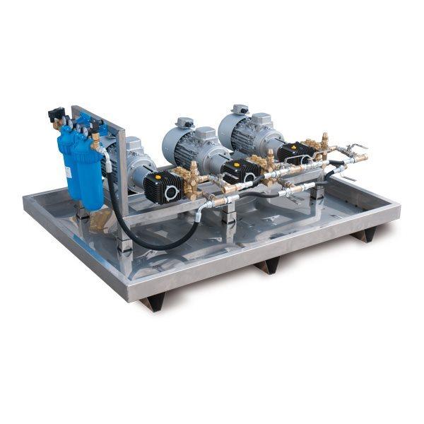 Idrotech misting industriale misting skid system D Sistem de nebulizare   Idrobase - Unilift