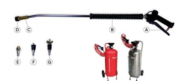 Kitdezinfectiemanual Kit de dezinfectie manual cu lance si nebulizator   IDROBASE - Unilift