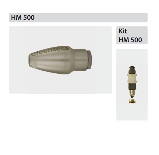 Untitled 5 Duza rotativa Cleantecs cu insertie de carbură HM 500 100°C | R+M Suttner - Unilift