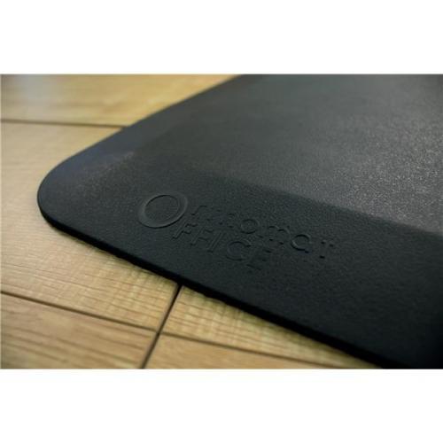 coba orthomat office standing desk mat antislip bevelled edge 500x800mm black ref oo010001 Covor ortopedic Orthomat Office   COBA - Unilift