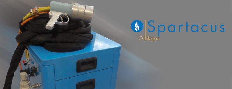 spartacus oil gas big 800x307 1 Sistem de aplicare tratament anticoroziv cu flacara | Spartacus | IBIX - Unilift termoizolare