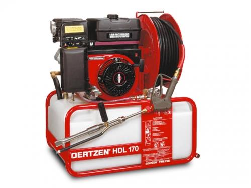 zoom b9fe049e2ef7a6db0cda563e86034e2e Echipament mobil de stingere a incendiilor cu apa sub presiune si spumogen | HDL 170 | Oertzen - Unilift