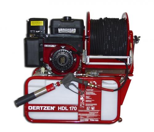 zoom f28f59e4b1b89f55b399198f9f164697 Echipament mobil de stingere a incendiilor cu apa sub presiune si spumogen | HDL 170 | Oertzen - Unilift