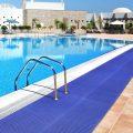 af deckstep leisure mat blue 2 Covor din vinil pentru piscine | DeckStep | COBA - Unilift