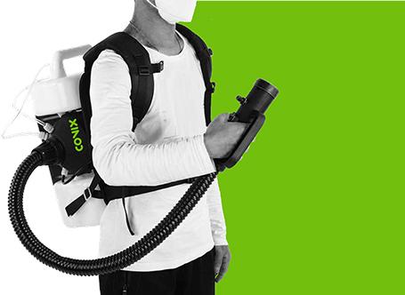 fOGAIR NEBULIZADOR desinfeccion Nebulizator portabil cu ceata rece | FOGAIR | Teinnova - Unilift