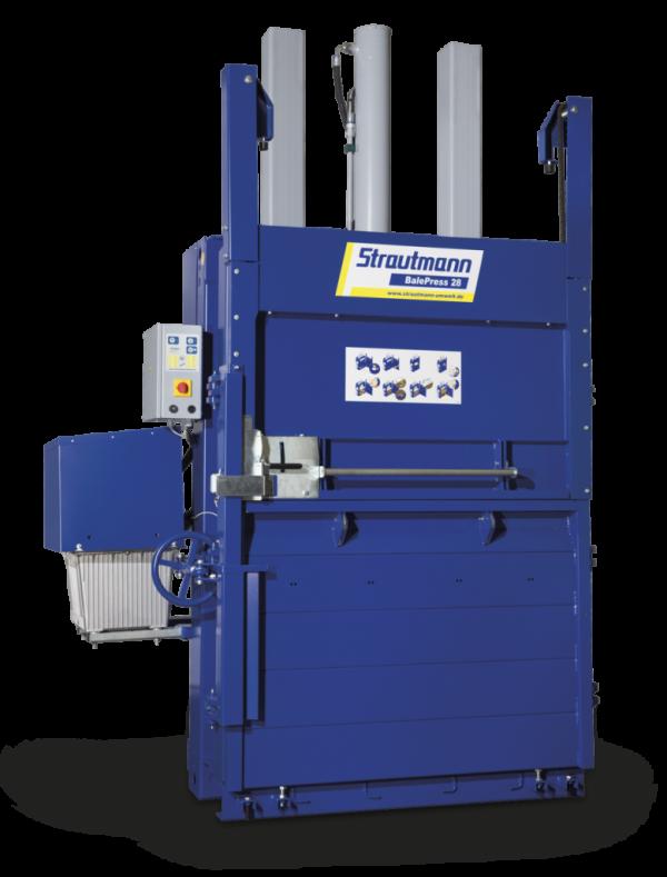 BalePress 28 Presa compactoare industriala pentru carton si hartie BalePress de 28 tone   Strautmann - Unilift