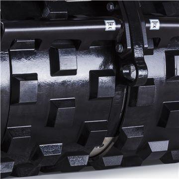 2 Cilindru compactori dubli LP 9505 Husqvarna - Unilift Cilindrii compactori dubli LP 9505