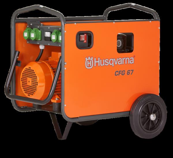 Vibrator pentru beton CFG 67