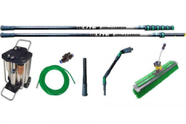 unger RONK1 nLite HiMod Carbon und Hydropower RO20S 10v Kit curatare geamuri la inaltime 11.9 m - filtru cu osmoza inversa | Ro Starter Kit | Unger - Unilift Kit curatare geamuri la inaltime