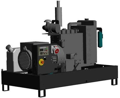 GBW Generator Electric Industrial | GBW10Y | Diesel | Pramac | 10.20 kVA | 380 V | Necarcasat - Unilift