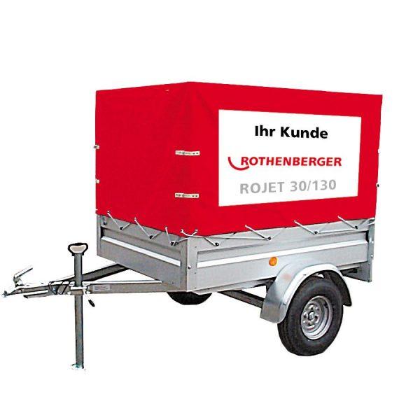 76300 Unitate de curățare de înaltă presiune pentru țevi de la Ø 40 – Ø 200 mm   ROJET® 30/130   Rothenberger - Unilift