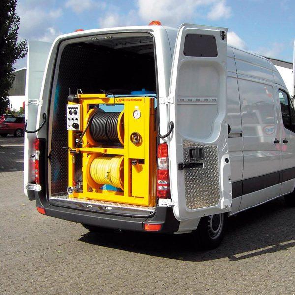76540 Unitate de curățare de înaltă presiune | ROJET 50/120-60/140-85/160-100/160-100/200 | Rothenberger - Unilift