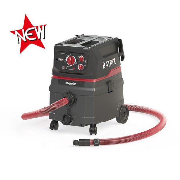 Aspirator cu acumulatori 36-18V ISC Batrix L Basic | Starmix - Unilift Aspirator cu scuturare automata a filtrelor iPulse