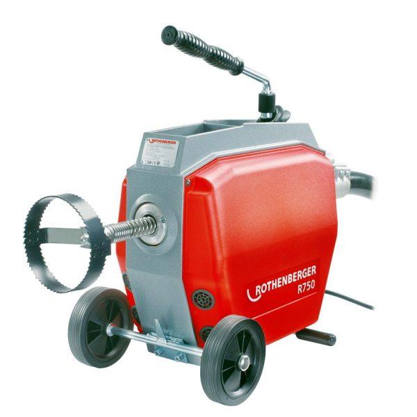 r750 Mașină de desfundat pentru țevi | R 750 | Rothenberger - Unilift
