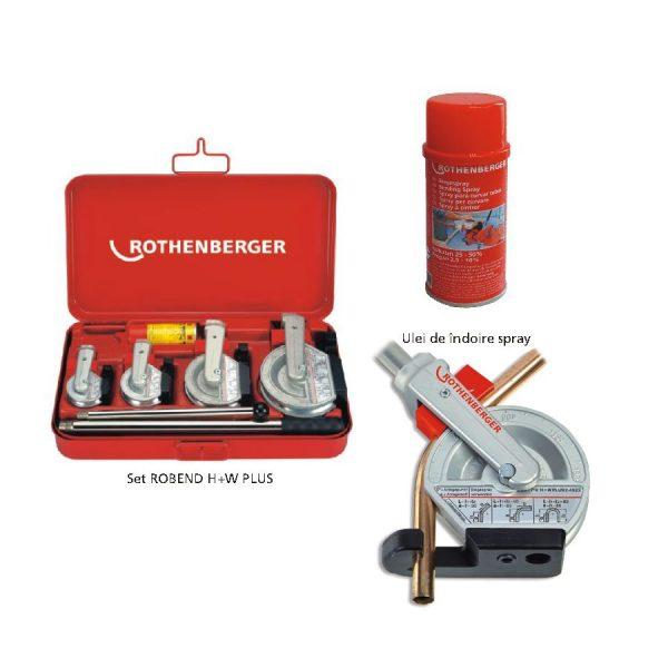 robend plus Dispozitiv universal de îndoire manuală până la 180° | ROBEND® H+W Plus | Rothenberger - Unilift